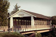 Covered bridge in Millbridge community, Millbridge Parkway, Waxhaw, NC