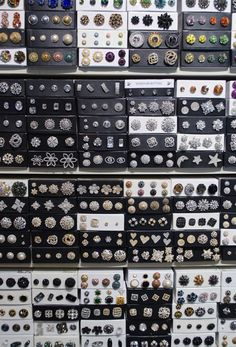 Swarovski Rhinestone Buttons from M&J Trimming