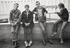 as the most important photographic record of the skinhead movement, followed by a number of exhibitions, as well as two more books on the same theme, Skins and Punks and Raving 89.