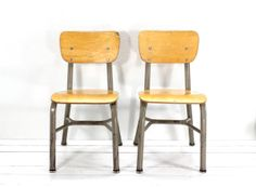 Bentwood  Chair SetMetal and WoodMid Century Modern by AtomicAttic, $45.00