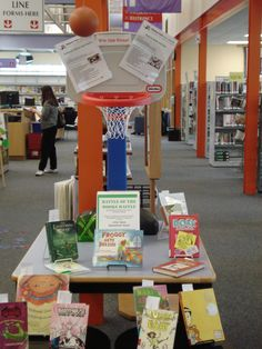 March Book Battle 2015 display at Damascus Library!