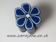 polymer cane mixing blues - Google Search