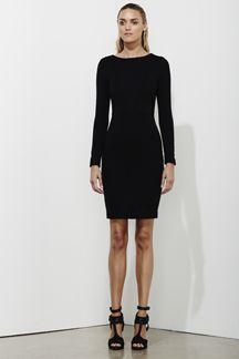Reflection Dress - Black - on sale