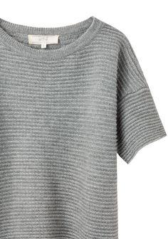 Vanessa Bruno Athé Textured Knit Tee