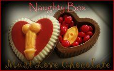 Naughty Box Love Chocolate, Box, Sweet, Desserts, Dessert, Postres, Deserts