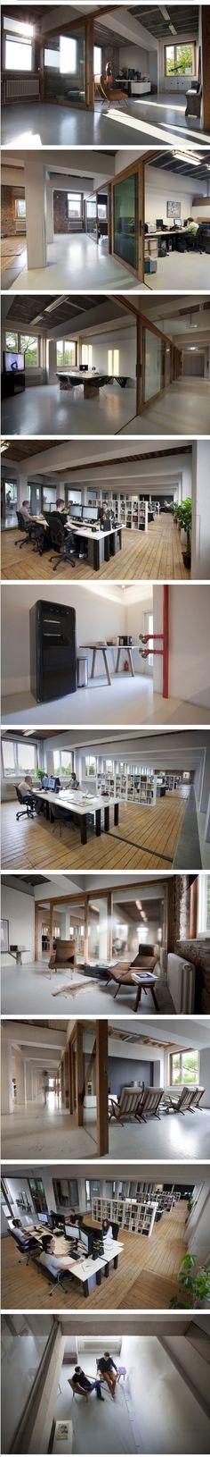 Momkai's Amsterdam Design Studio by Office Snapshots
