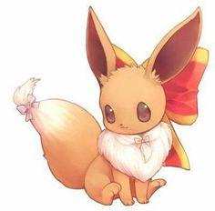 eevee is one of my favorite pokémon ever its soo cute pokemon