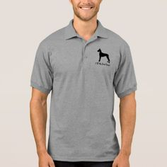 I Love My Great Dane! Polo Shirt - dog puppy dogs doggy pup hound love pet best friend
