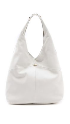 Pour La Victoire Nouveau Hobo - everyone should have a white handbag in their wardrobe this summer.