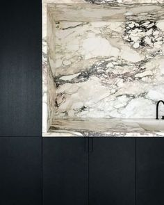 """thedesignwalker: """"Marble kitchen countertop detail """""""