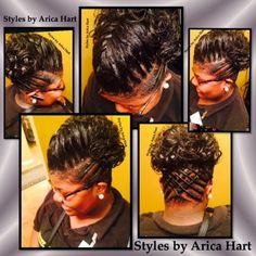 Brilliant Braid Twist Hairstyles Black Hair Styles Updo Blog Short Hairstyles For Black Women Fulllsitofus