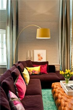 Transitional (Eclectic) Living Room by David Howell