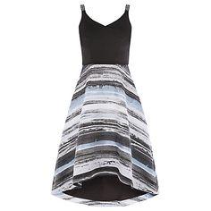 Buy Coast Riley Striped Skirt Dress, Multi Online at johnlewis.com