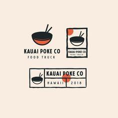 Design Illustration Logo Inspiration 37 New Ideas Icon Design, Food Logo Design, Graphisches Design, Logo Food, Brand Identity Design, Corporate Design, Food Brand Logos, Asian Design, Truck Design