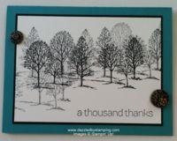 Lovely As a Tree, www.dazzledbystamping.com