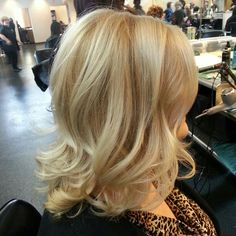 All Over Blonde Hair Color 104