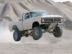 1968 Ford F100 Truck Jumps