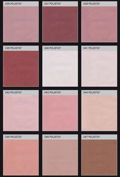 Polistoff: pink palette