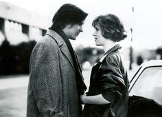 Judd Nelson (as John Bender) and Molly Ringwald (as Claire Standish) in The Breakfast Club (1985)