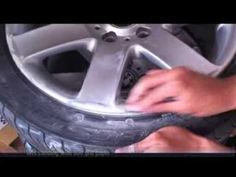 How to repair and paint alloy wheels at home with spray cans (BMW 44s) P...