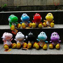 9pcs/lot Super mario bros 18cm Dinosaurs Baby Toys Size supermario(China (Mainland))