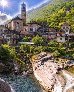 Verzasca Ticino - Switzerland  | Photography by @sennarelax | #switzerlandpictures by switzerlandpictures