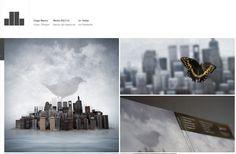 #portfolio de #diseño con referencias muy guapas de la gente de Hanzo