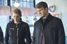 """Castle and Beckett Look Confused on Castle Season 5, Episode 18: """"The Wild Rover"""""""