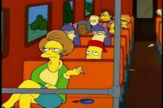Discover & share this Edna Krabappel GIF with everyone you know. Goat Cartoon, Cartoon Pics, Simpson Wave, Bart Simpson, Nerd Humor, Nerd Funny, Funny Puns, Hilarious, Adventure Time Finn