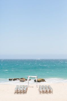 Gorgeous views for your ceremony #DreamsLosCabos
