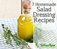 Seven Salad Dressing Recipes  It can be a challenge to find healthy salad dressing. These recipes are delicious and easy to make.