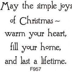 Simple Joys of Christmas Greeting                                                                                                                                                     More