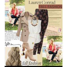 """Fall Fashion with Lauren Conrad"" by julietav on Polyvore"