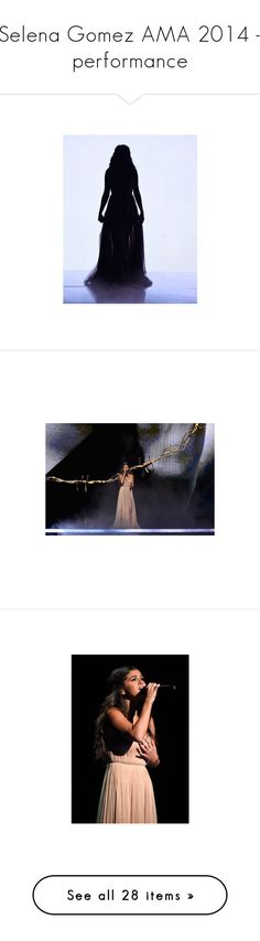 """Selena Gomez AMA 2014 - performance"" by nasti-girl ❤ liked on Polyvore featuring selenagomez, live, performance, TheHeart and selena gomez"