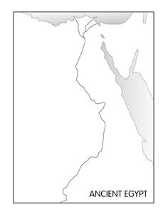 Outline Maps: Ancient Egypt and Greece - Five Js™ BEST full page modg grade Ancient Egypt Lessons, Ancient Egypt Activities, Ancient Egypt For Kids, Ancient Greece, Ancient Aliens, Geography Worksheets, Map Worksheets, Printable Worksheets, Egypt Map
