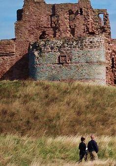 Tantallon Castle, Ediburgh UK