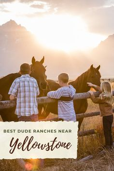 Dude Ranch Vacations, Vacation Trips, Vacation Travel, Family Travel, Vacation Destinations, Vacation Ideas, Yellowstone Vacation, Yellowstone National Park, Parade Rest