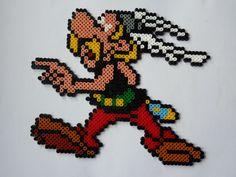 Asterix hama perler beads by My Newsroom