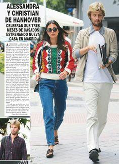 Ernst August, Spanish Woman, Tomboy Fashion, Striped Linen, Royal Fashion, Fall Looks, Royal Style, My Style, Feminine Style