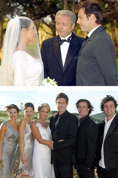 Remember when Sally & Hayley got married on Channel Home & Away! Celebrity Couples, Celebrity Weddings, Wedding Movies, Hot Actors, Home And Away, Beautiful Bride, Sally, Soaps, Got Married