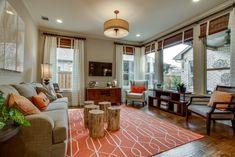 Viridian living room #CambridgeHomes