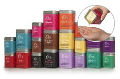 Selection of Orli Massage candles