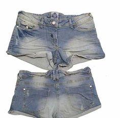 Vaqueros cortos elasticos para mujer Ofertas especiales y promociones  Caracteristicas Del Producto: - De Mujer Corto Pantalones cortos de tela vaquera