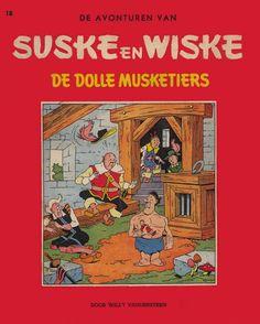 Suske & Wiske: De dolle musketiers (1955) - Willy Vandersteen