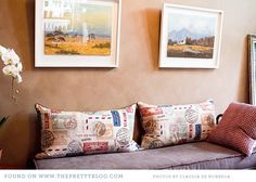 Fun pillows for a travel themed kids bedroom?    cape-town-designer-laurie-wiid-home-001