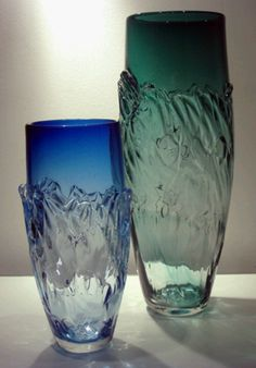 Tall Water vases, Phil Atrill