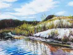 Pastel Artist Scott Wilson Stallworth Lake