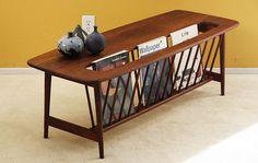 RARE Arthur Umanoff Long Coffee Magazine Table Mid Century Danish Modern Eames | eBay