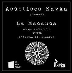 Acústico del grupo La Macanca en nuestra librería asociada Kavka Libros. ➡ www.uniliber.com