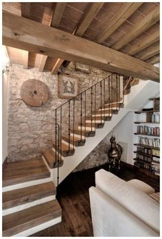Basement Flooring Ideas - Choosing the right flooring has different rules in a b. - Basement flooring - Basement Flooring Ideas – Choosing the right flooring has different rules in a basement than it d - Best Flooring For Basement, Basement Stairs, Basement Ideas, Basement Bathroom, Modern Basement, Walkout Basement, Basement Renovations, Home Renovation, Rustic Stairs